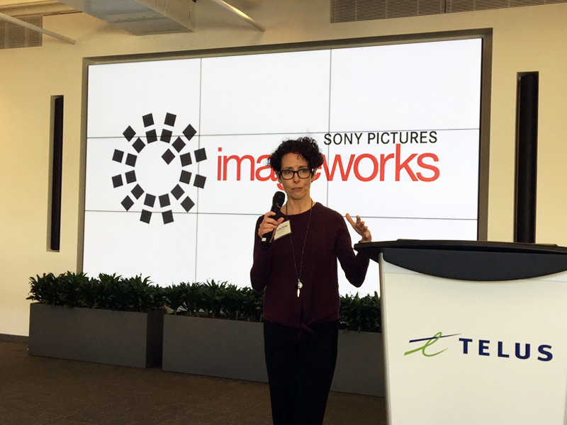 Michelle Grady, SONY Imageworks, Vancouver