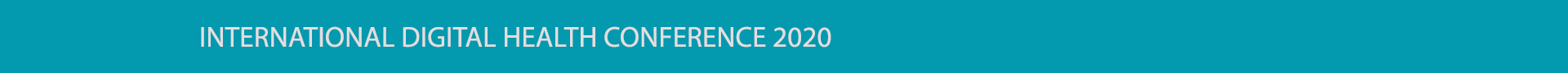 International Digital Health Conference 2020